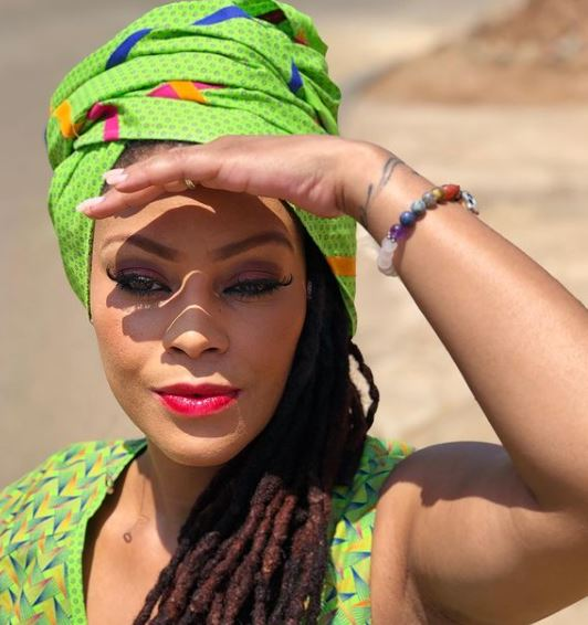 """Letoya Makhene reveals the """"imbiza"""" that protected herself and family from contracting Covid-19"""