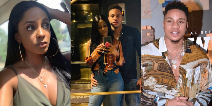 VIDEO: Power star, Rotimi and girlfriend, Vanessa Mdee are engaged