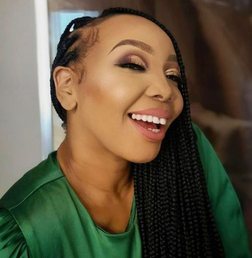 Fans react as Thembisa Nxumalo reveals she recently had a baby