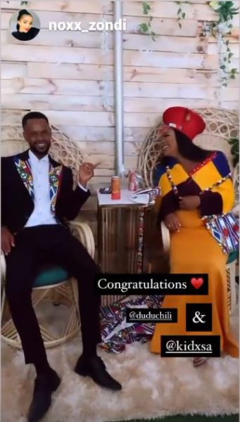 Kid X ties the knot with Dudu over weekend