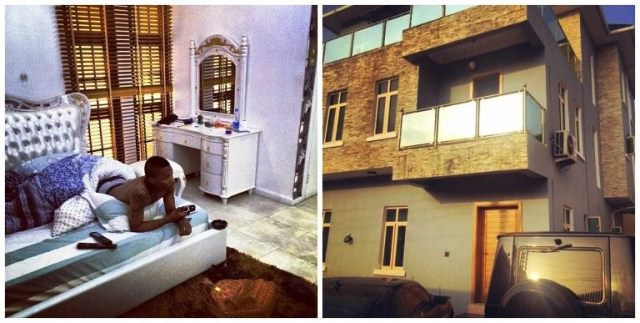 Wizkid's Cars and Houses Latest Pictures