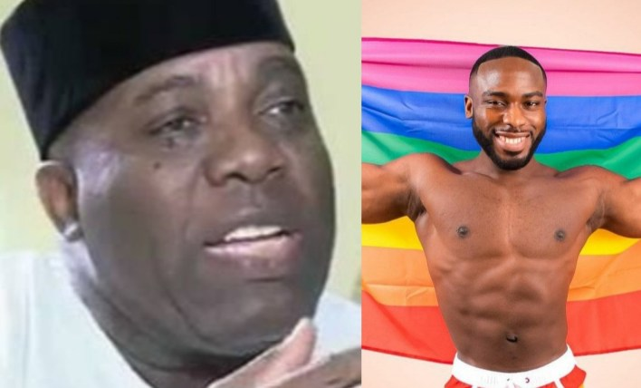 'A major spiritual challenge', Doyin Okupe reacts after his son came out as gay
