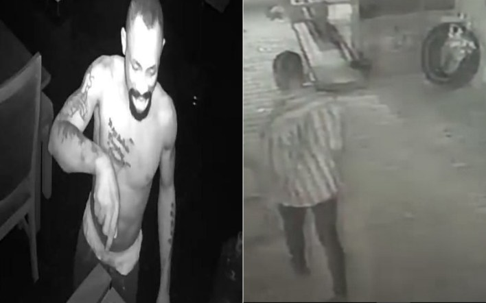 CCTV Footage Captures Face Of Suspected Thief Who Raided House In Lekki