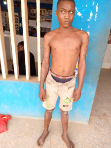 PHOTOS: Police arrest 8 members of two rival cult groups in Ogun