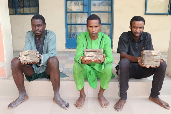 Police arrrest 7 kidnappers, recover N3.2m cash in Niger state