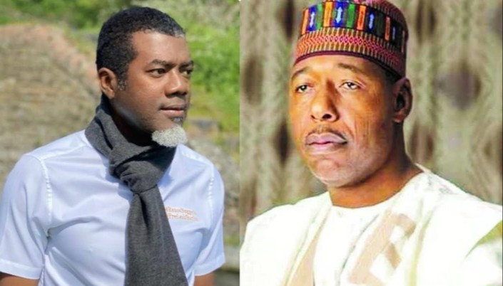 Reno Omokri reacts to Zulum's claims of Christians being Boko Haram members