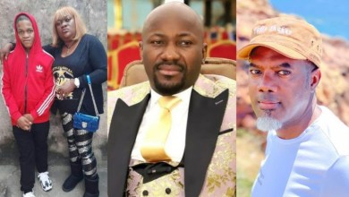 Don Davis' mother slams Apostle Suleman after he accused her of blackmailing Reno Omokri