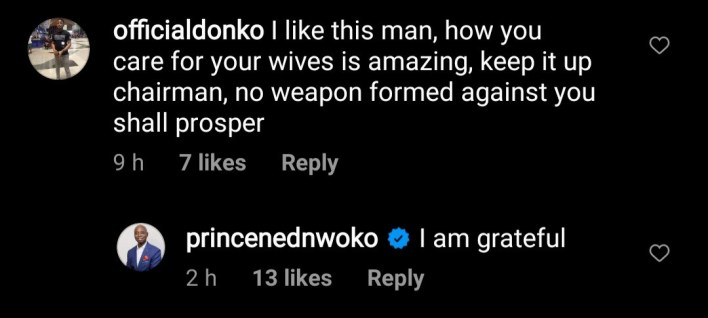 Ned Nwoko responds to an offer of marriage from an older woman