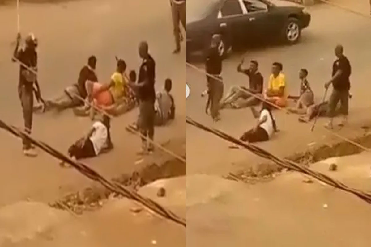 Imo Police Commissioner Orders Arrest Of Cops Caught On Camera Flogging Some Orlu Youths