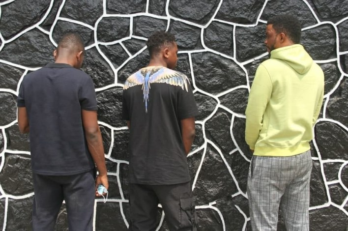 PHOTOS: 3 Dubai-based suspected internet fraudsters, 14 others, arrested in Lagos