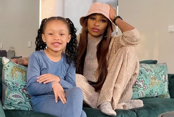 DJ Zinhle shares adorable selfies with daughter, Kairo Forbes