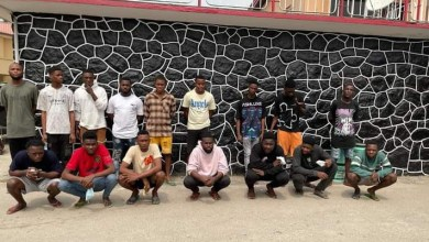 EFCC arrests 16 suspected internet fraudsters in Lagos