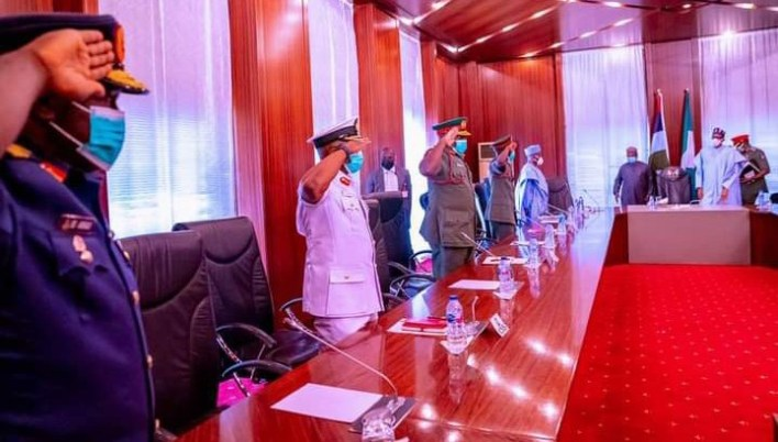 Buhari writes National Assembly, seeks confirmation of Service Chiefs