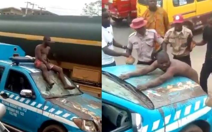 Tricycle rider who stripped naked and assaulted FRSC officials in Edo bags 3 months imprisonment