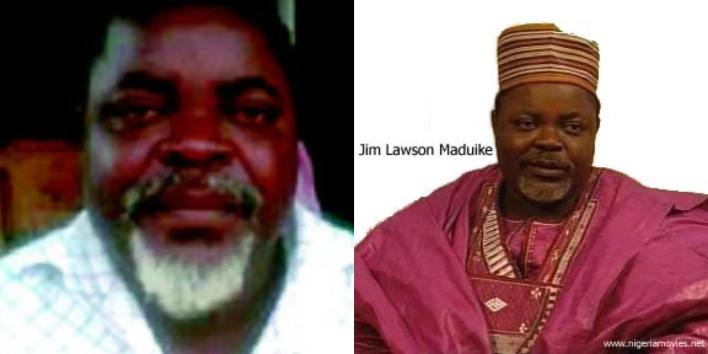 BREAKING: Veteran Nollywood Actor, Jim Lawson Maduike Is Reportedly Dead