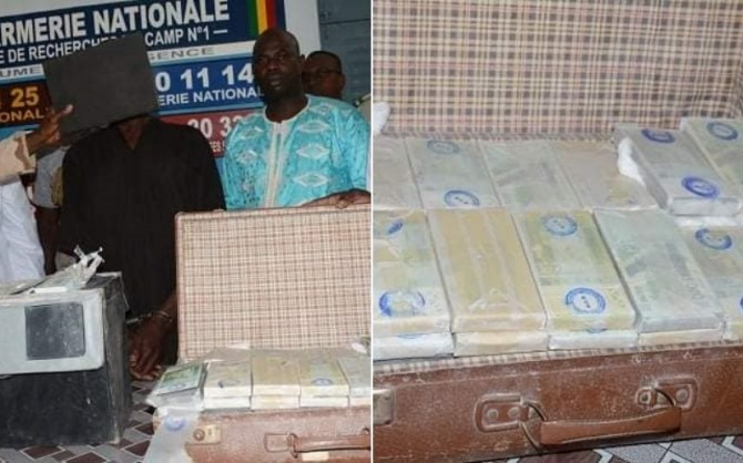 PHOTOS: Malian troops arrest currency counterfeiting kingpin, seize 5.3bn fake notes