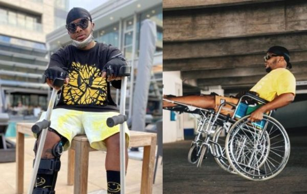 Major League's Bandile flexes with his wheelchair in Kenya – Watch