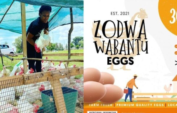 Zodwa Wabantu opens new chicken and egg business after return to Level 3