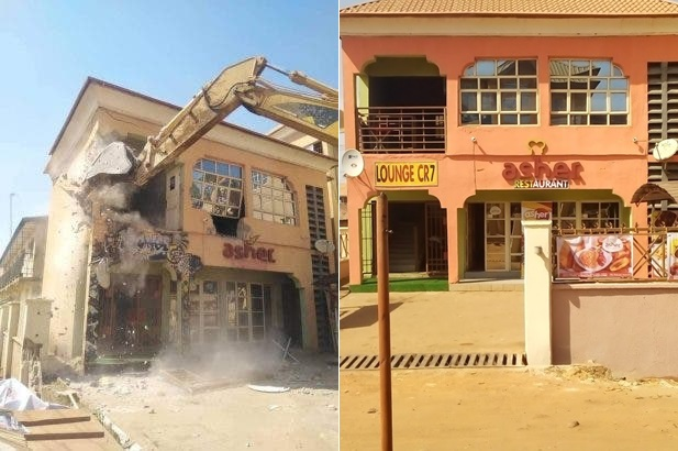 Kaduna Sex Party: Restaurant Owner Reveals How She Lost Pregnancy After El-Rufai Demolished Her Property