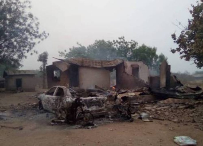 """""""I Walked All Night In The Forest"""" — Seriki Fulani Says After Youths Allegedly Burnt His Settlement In Oyo"""