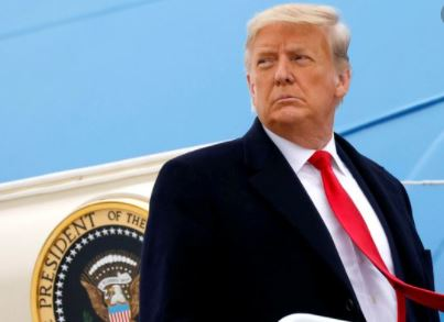 President Donald Trump impeached for the second time