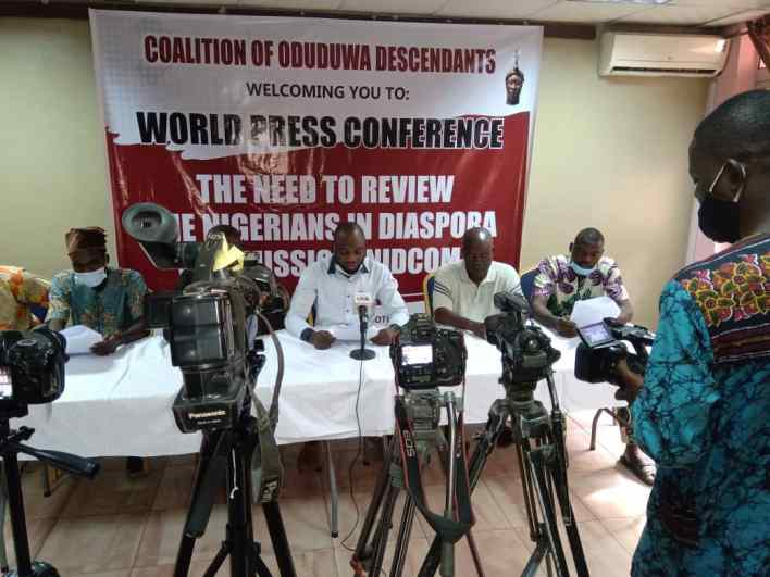 Scrap or restructure NIDCOM now, Oduduwa group urges FG over threats by Diaspora to national security