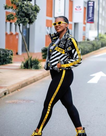 Shauwn Mkhize hits back at trolls slamming her fashion sense