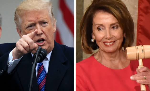 House will proceed with efforts to impeach Trump 'with urgency', says Nancy Pelosi