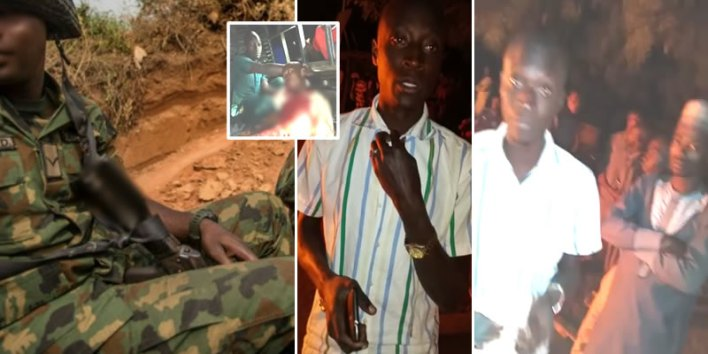 VIDEO: Two killed in a bloody clash between Kwara community residents and soldiers