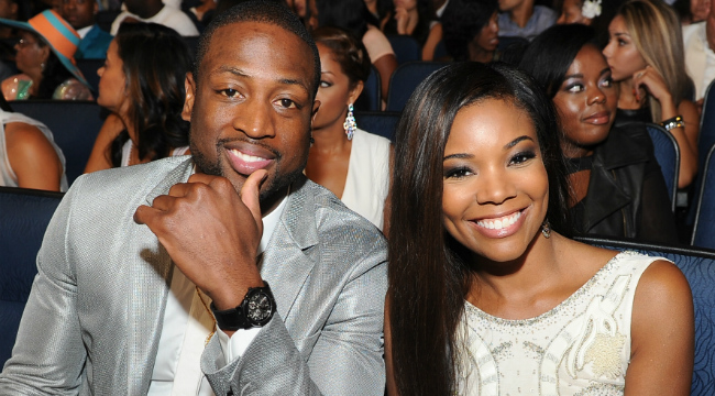 Dwyane Wade reacts to his wife Gabrielle Union's onscreen sex scenes