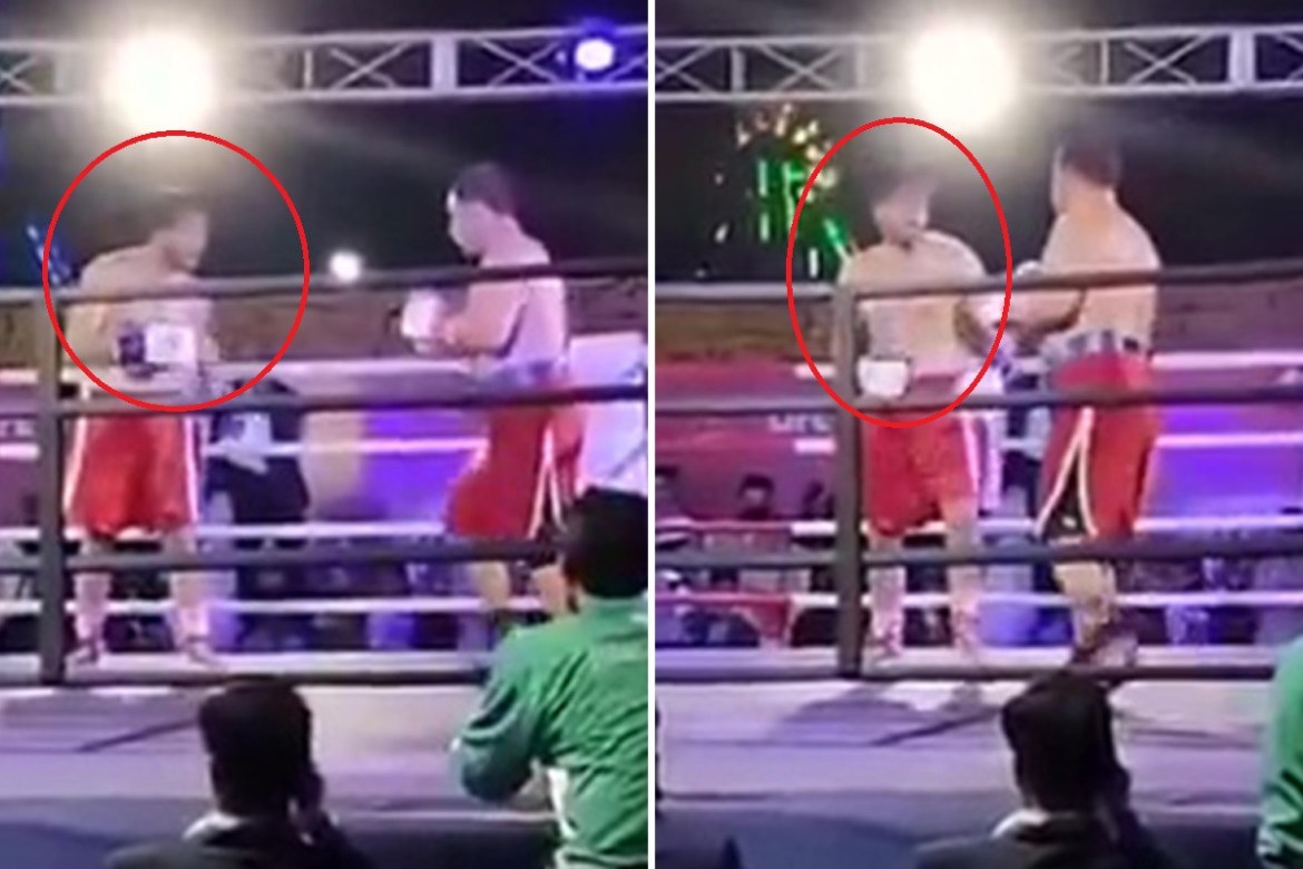 Pakistani boxer, Muhammad Aslam Khan dies at 27 after collapsing in the ring (photos)