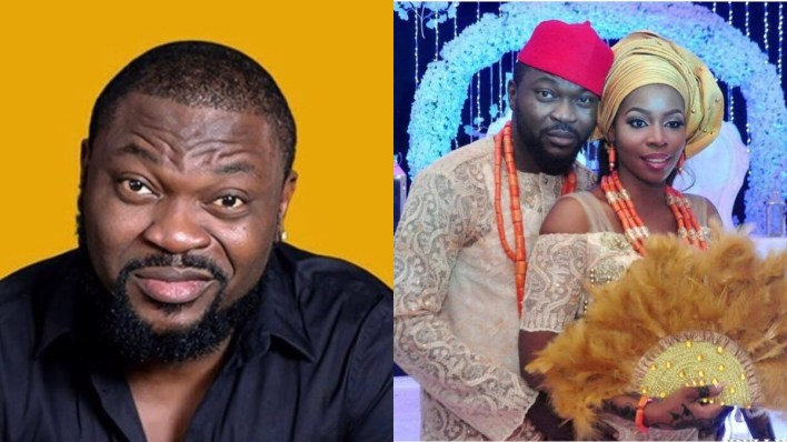 Comedian Buchi reacts to viral video of wife being arrested