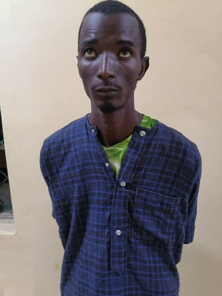 PHOTOS: Police arrest two suspects for killing a vigilante in Kano