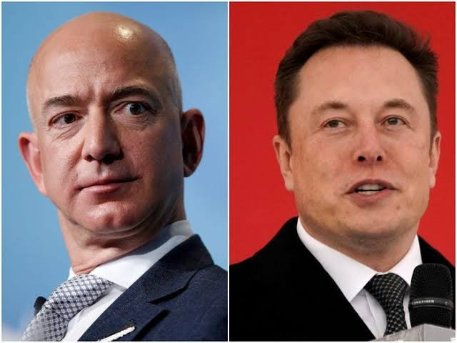 Jeff Bezos overtakes Elon Musk to become the world's richest person again