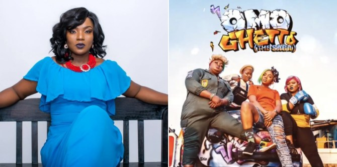 Chioma Akpotha reacts as Omo Ghetto hits over N500m in box office