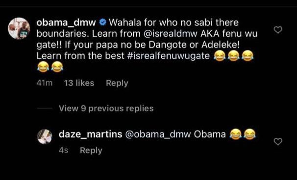 Davido, Zlatan Ibile, others mock Isreal DMW after his apology to DJ Cuppy