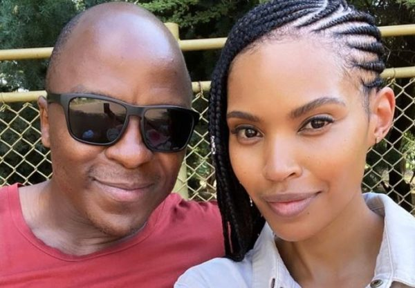 Gail Mabalane celebrates 8th wedding anniversary with Kabelo