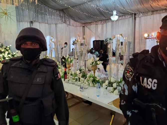 COVID-19: Police storm Lagos party, arrest organizers (PHOTOS)