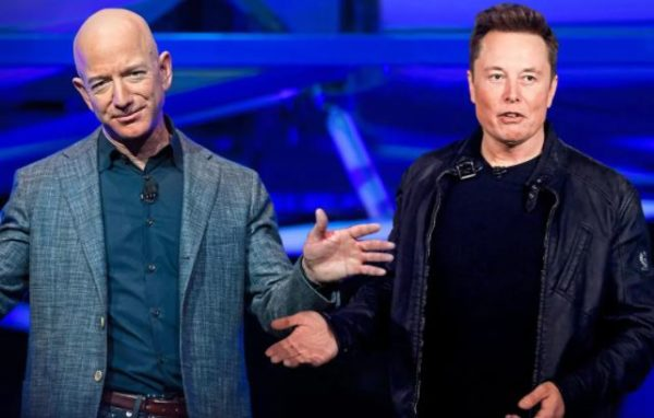 Jeff Bezos overtakes Elon Musk as world's richest person