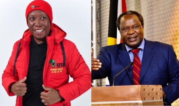 Julius Malema reconciles with Tito Mboweni for the growth of South Africa