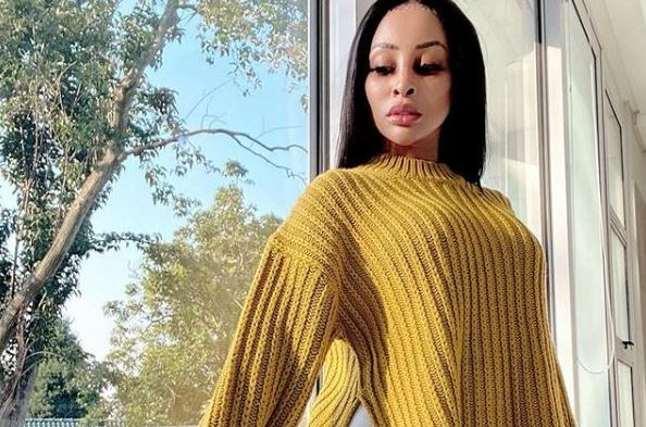 Khanyi Mbau posts another picture of herself with new man amid cloud of controversy