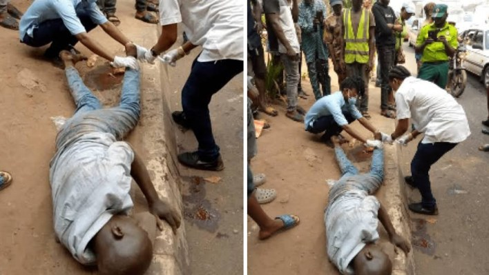 LASEMA rescues man from committing suicide in Ikeja