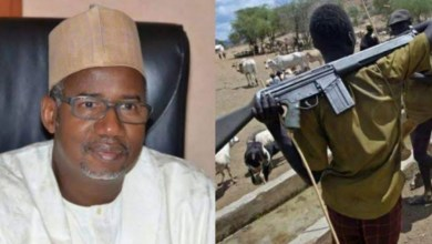 Bauchi governor reverses self, begs Fulani herdsmen not to carry arms