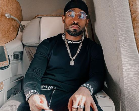 Prince Kaybee shows off a drawing of his girlfriend, Zola