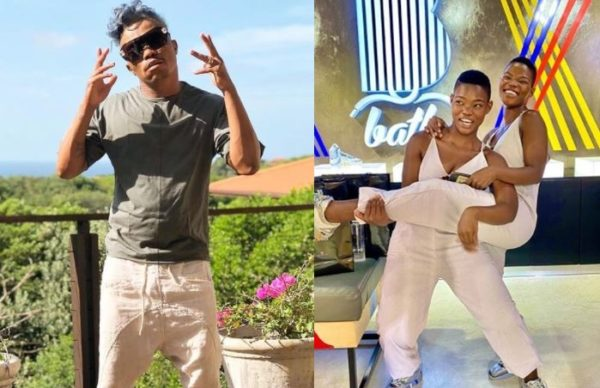 Somizi joins the Qwabe twins in serving dance moves – Watch