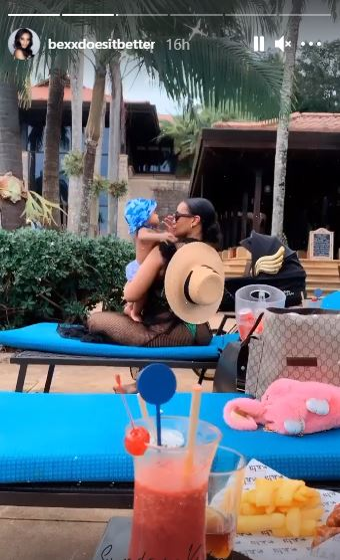 Thobeka Majozi goes on date with baby Khotso – Photos