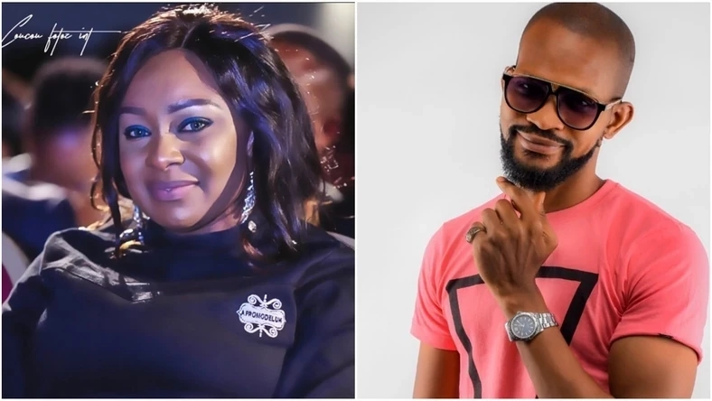 Uche Maduawgu slams Victoria Inyama and other actors against his sexuality; says he knows 'what they do in secret' (video)