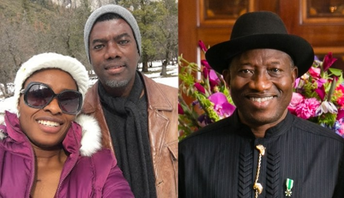 Reno Omokri welcomes 4th child with wife a baby girl named after former President Goodluck Ebele Jonathan