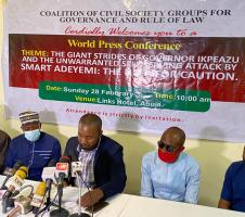 Drunkard Comment: Coalition knocks Smart Adeyemi, says lawmaker must apologise to Ikpeazu