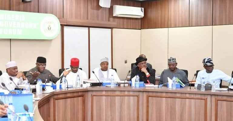 JUST IN: Governors meet in Aso Rock to address insecurity